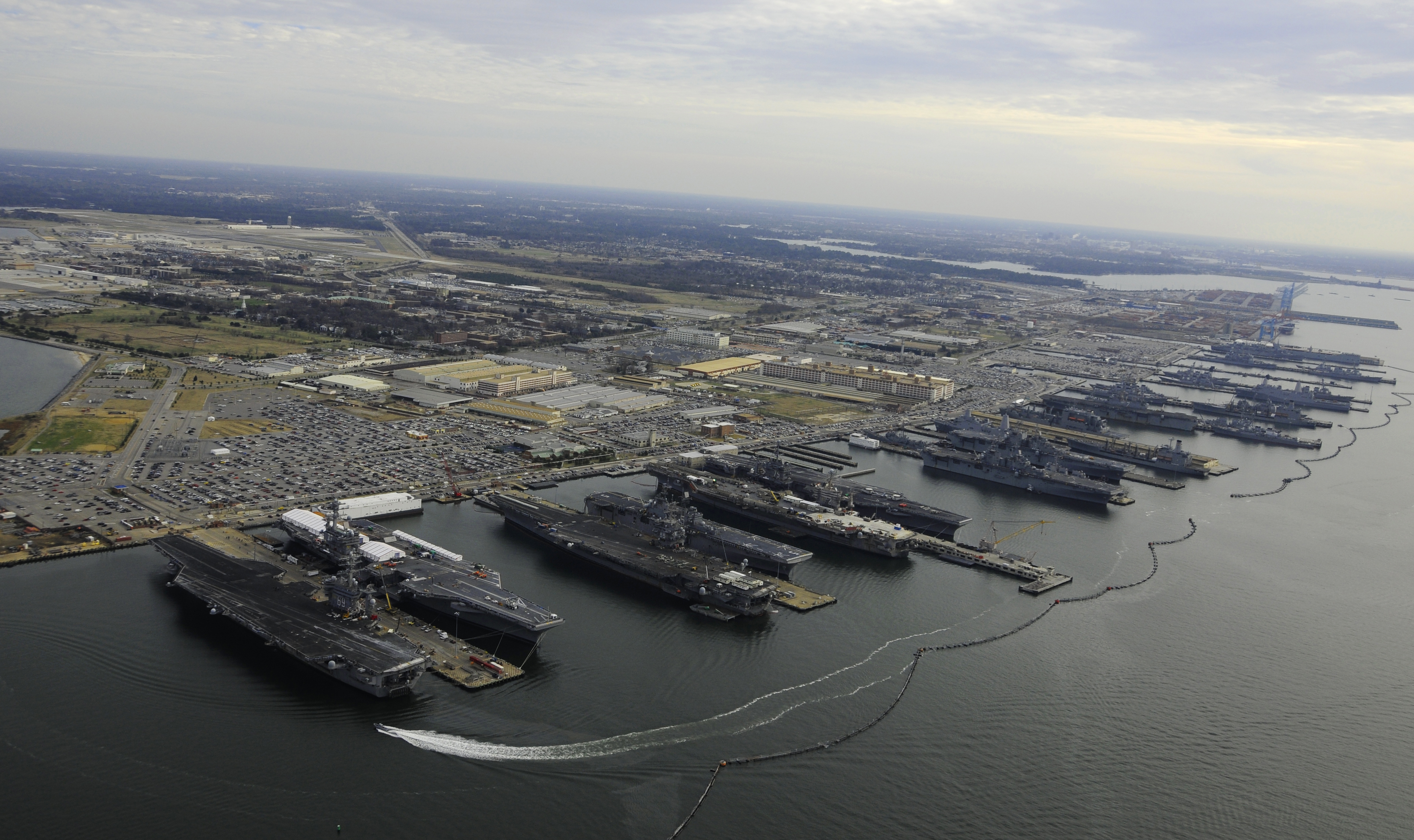(CVN 69), USS George H.W. Bush (CVN 77), USS Enterprise (CVN