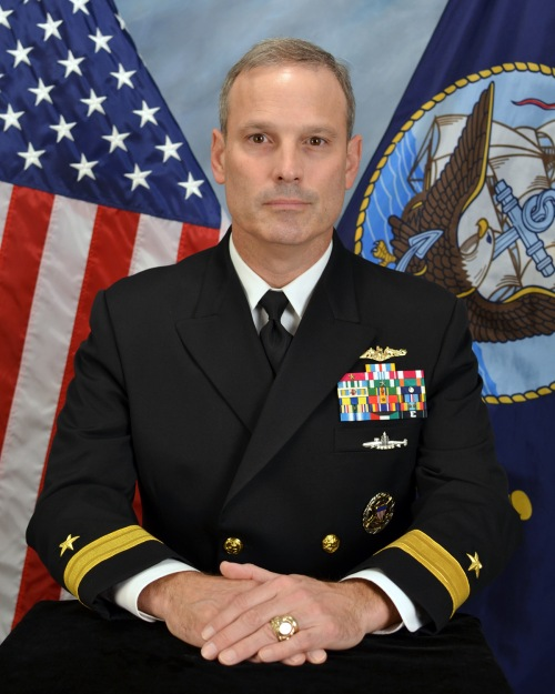 Rear Admiral Dietrich H. Kuhlmann Commander, Submarine Group NINE