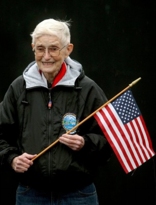 Mary Lou Baillie, 80, has worked for the federal government for 60 years, including 30 at Naval Base Kitsap- Bangor. She retired on Friday.