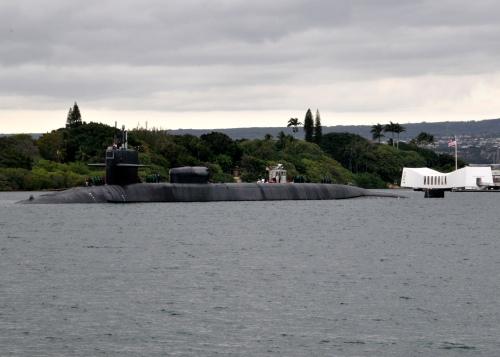 USS Ohio at Pearl Harbor Oct 032012