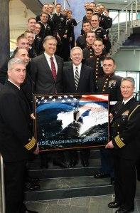 USS Washington Naming