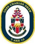 USNS Charles Drew Seal