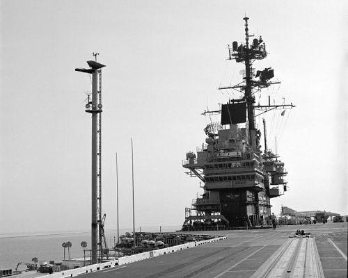USS Forrestal Belknap Pole
