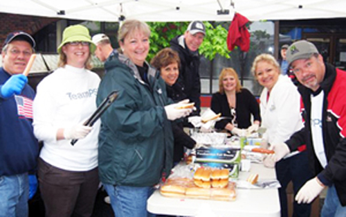 PSE was honored to host the Heroes BBQ at the 2011 parade where we grilled and served 3,400 hot dogs to veterans, active duty members and attendees.