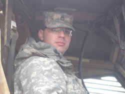 Staff Sgt Chris Gibson