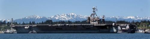 USS Stennis arrival NBK