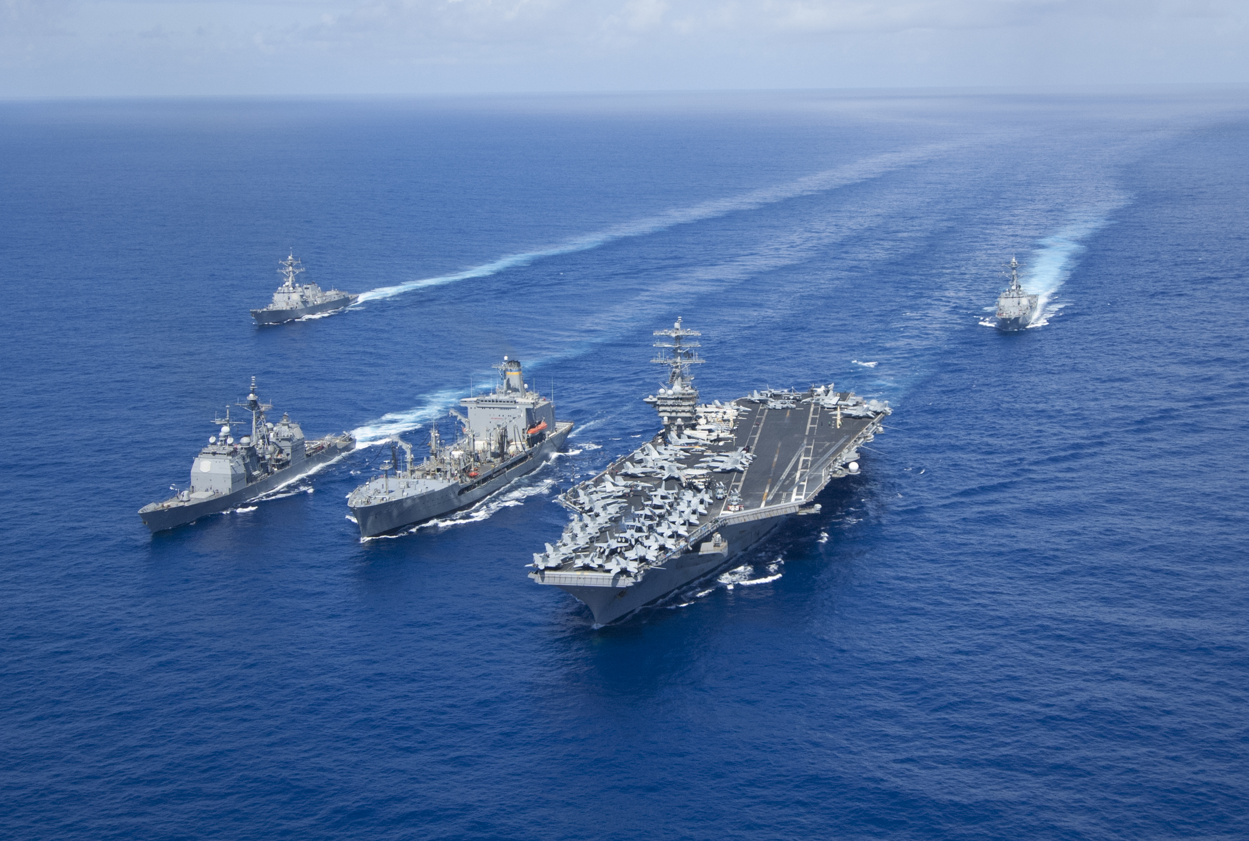 Air Craft Carrier Strike Group