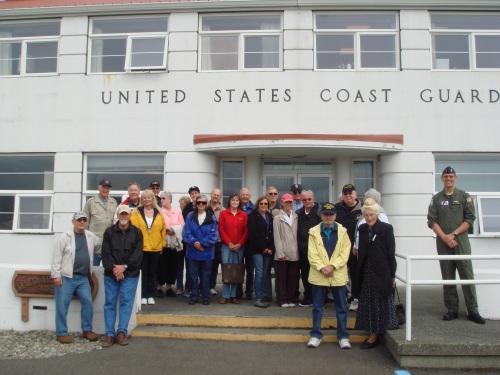 (June 25, 2013)Navy League Tour USCG Airstation Port Angeles