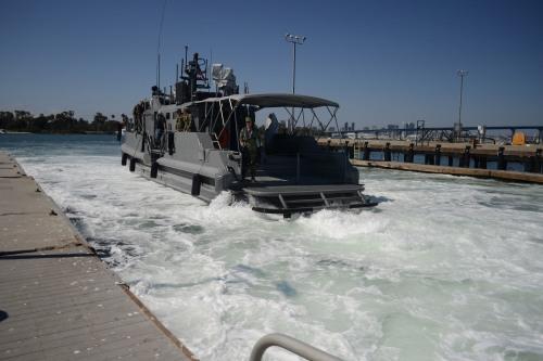 Safe Boat Built, Coastal Command Patrol Boat Arrives in San Diego ...