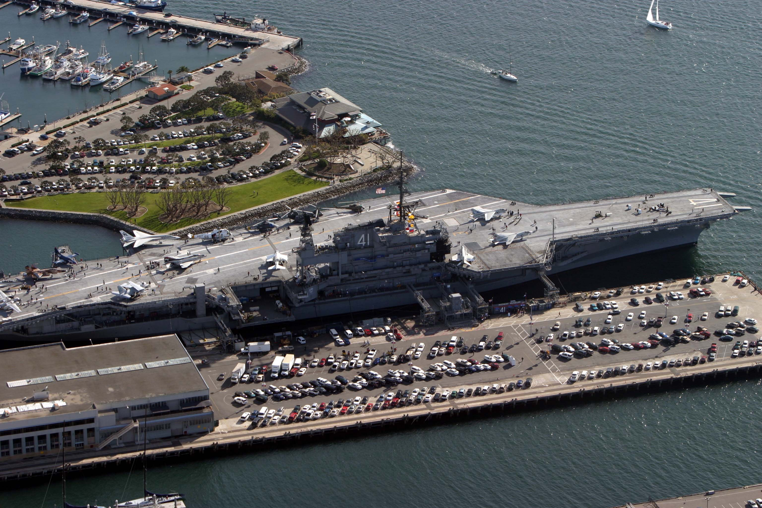 San Diego Naval Base Ship Tours