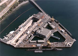 Delta pier Intermediate Maintenance Facility Pacific Northwest