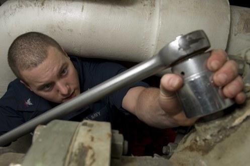 Stennis maintenance
