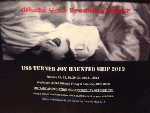 Turner Joy haunted 13