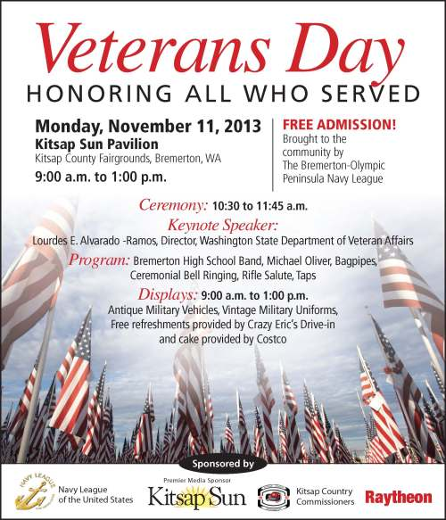 Veterans Day 2013 Flyer