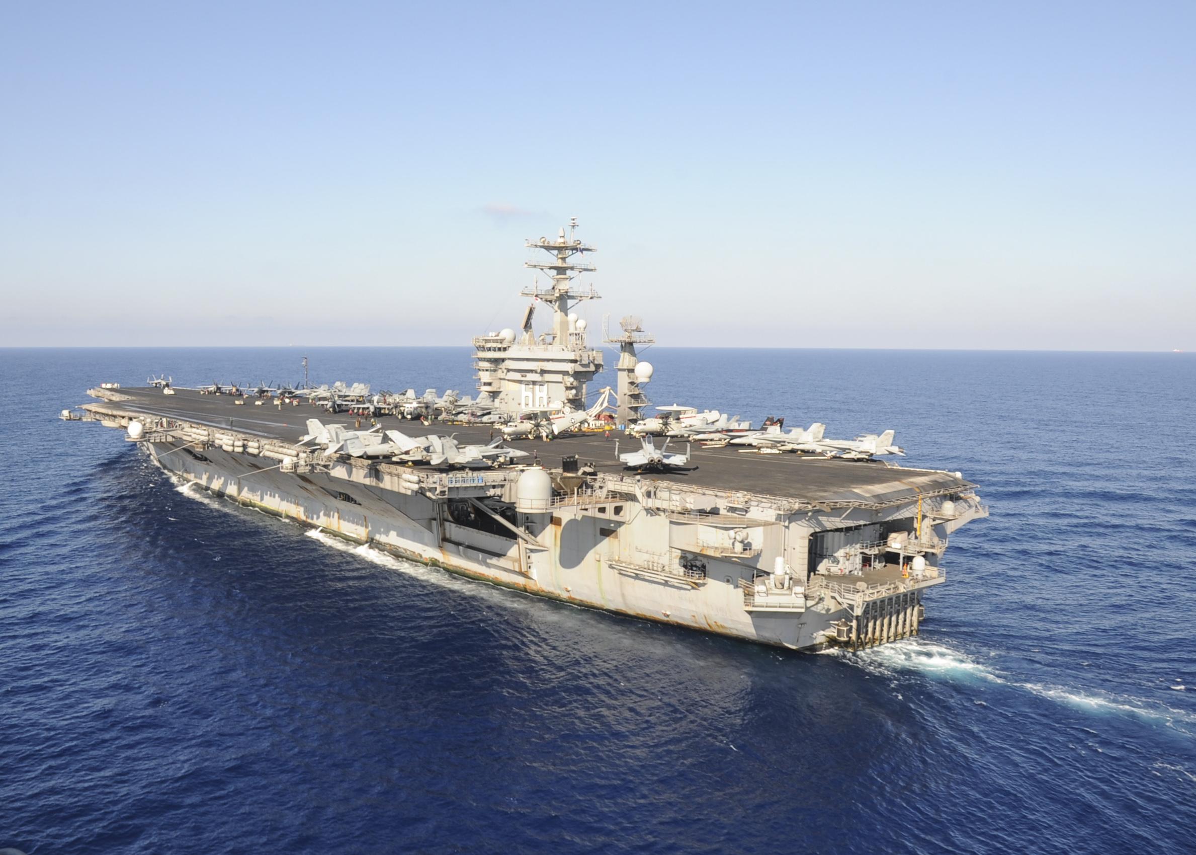USS Nimitz Returns to 5Th Fleet | Bremerton-Olympic Peninsula Council ...