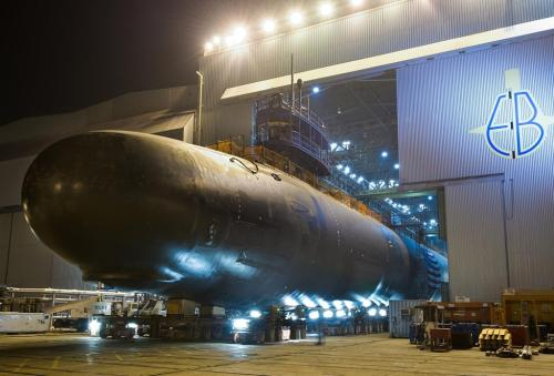 USS North Dakota EB