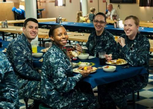 USS Stennis Thanksgiving