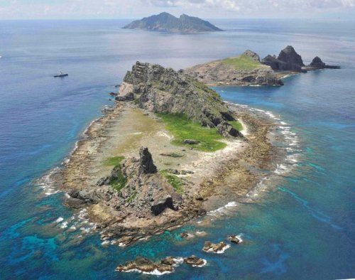 Kyodo, via Reuters A group of islands in the East China Sea that both Japan and China claim to control. American officials are worried that a collision or other event in the area could rapidly escalate tensions.