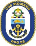USS_Momsen_DDG-92_Crest