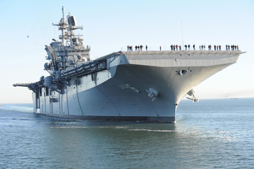Portaaviones Norteamericano