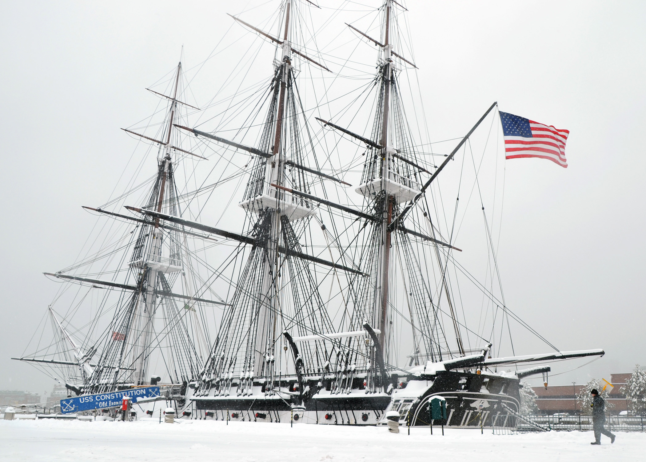 Picture of the Day: USS Constitution | Bremerton-Olympic ...