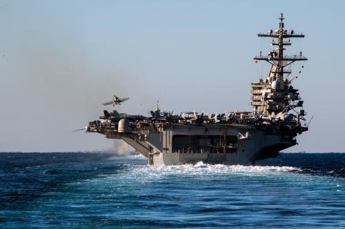 USS George W Bush airops