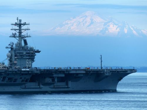 Nimitz and Mt Baker