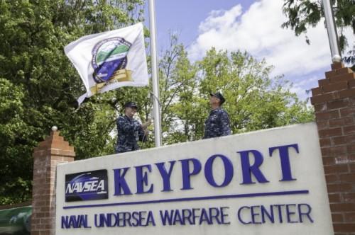 NUWC_Keyport_Centennial_Flag_Raising