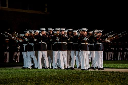 PhotoLibrary-EveningParadeUSMC_image1_highres