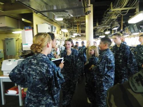 Aboard USCGC Healy
