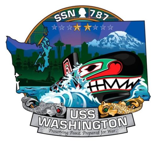 USS Washington Logo