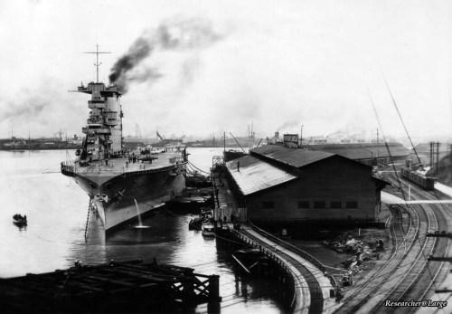 USS Lexington (CV-2) provides power to Tacoma Dec 17 1929