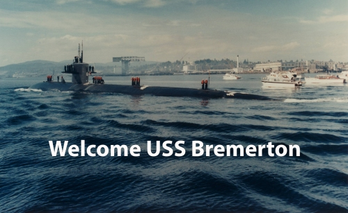 Welcome USS Bremerton