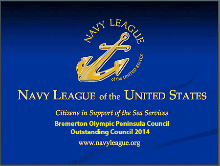 Navy League Certificate BROLPN 2014
