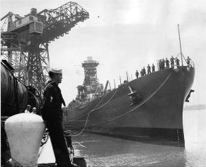 USS Washington BB-56 1