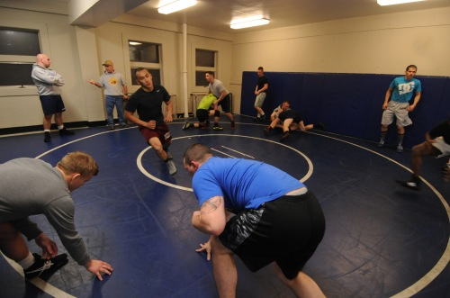 2015 ALL NAVY WRESTLING TRYOUTS AT BREMERTON