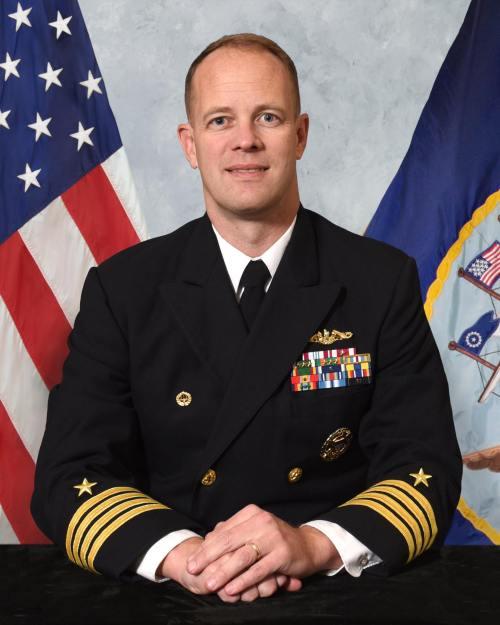 Capt Doug LaCoste CO NUWC Keyport