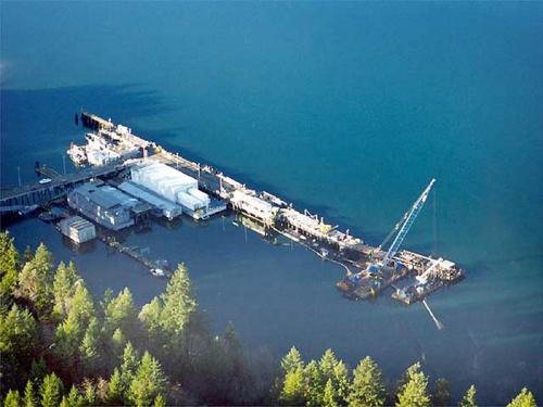NBK Bangor Service Pier