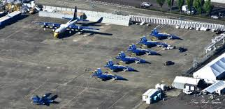 Blue Angels Flight Line