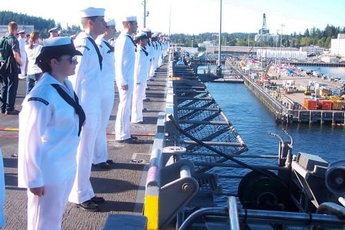 USS Stennis Mooring at PSNS