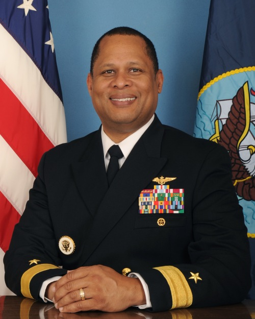 Rear Admiral Gary Mayes