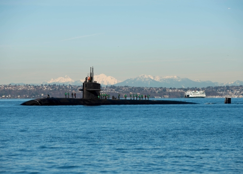 USS Olympia Arrives in Bremerton for Namesake Visit