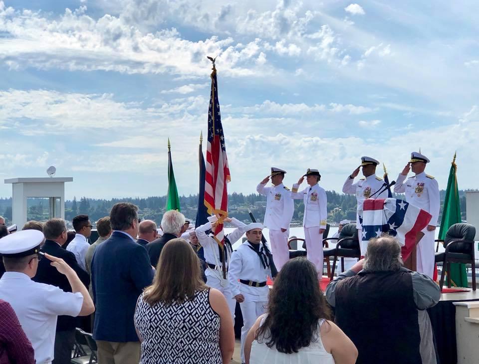 June 20: Commander Navy Region Northwest Change of Command